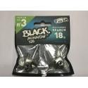 Black Minnow 120 mm 2 search jig 18 gr kaki BM626
