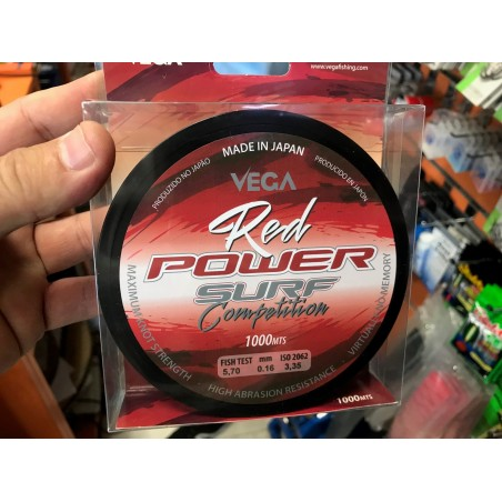 VEGA POWER RED SURF COMPETICION 1000MTS