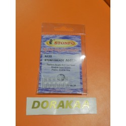 Perla Match Stonfo Doble Perforado 2.2 mm