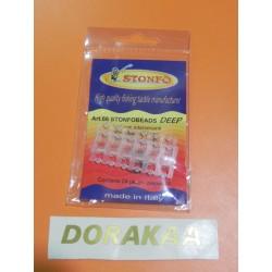 Perla Match Stonfo Doble Perforado 3.3 mm