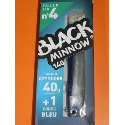 Black Minnow 140 Combo Shore Jig 40 gr blue BM200