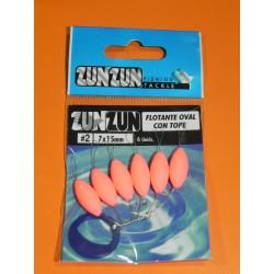 Perla Flot . Zun-Zun oval nº 2 PINK