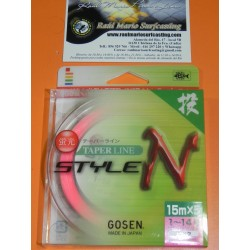 Taper Leader Gosen 0,16mm-0.62 mm