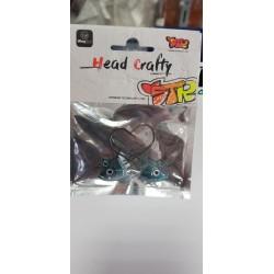 HEAD SHAKY 14 GR-ANZ 3/0 COLOR S7